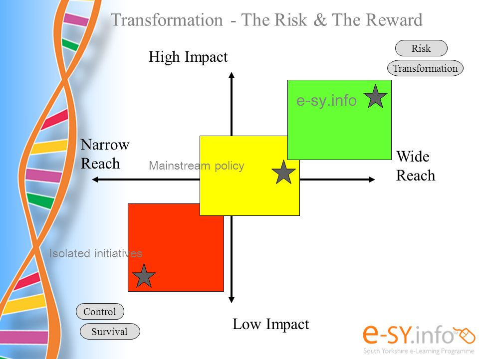 Transformation - The Risk & The Reward