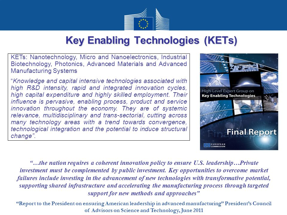 Key Enabling Technologies (KETs)