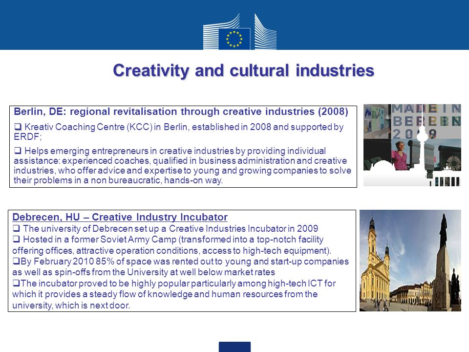 Creativity and cultural industries