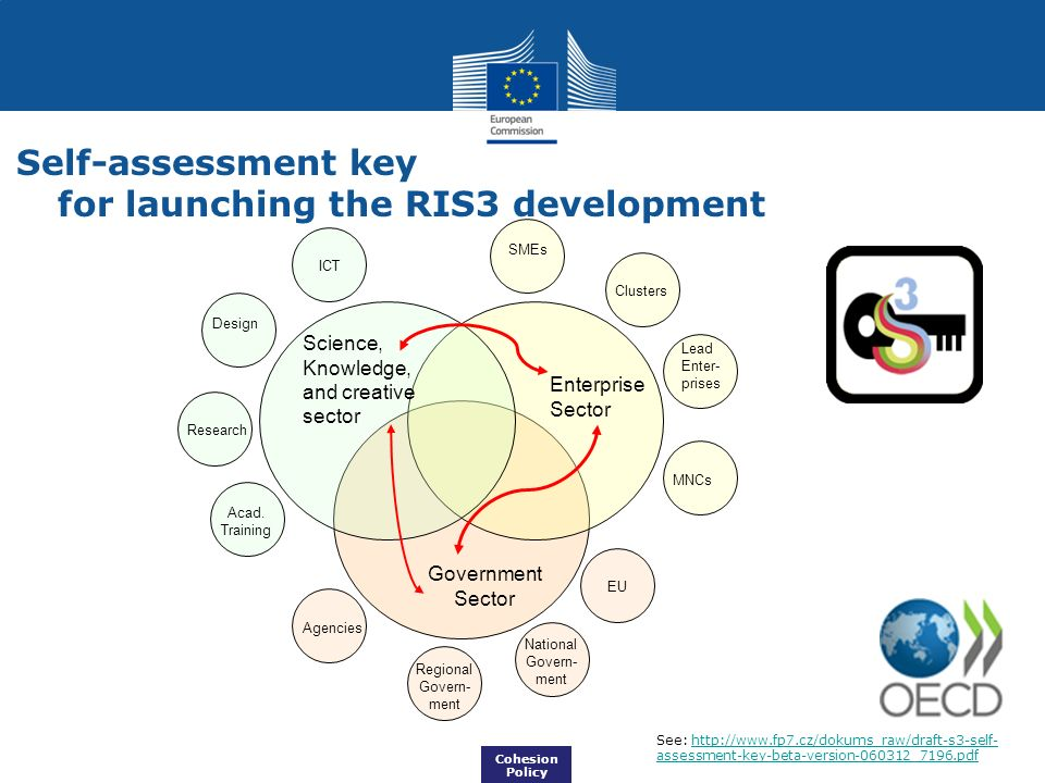 Self-assessment key for launching the RIS3 development