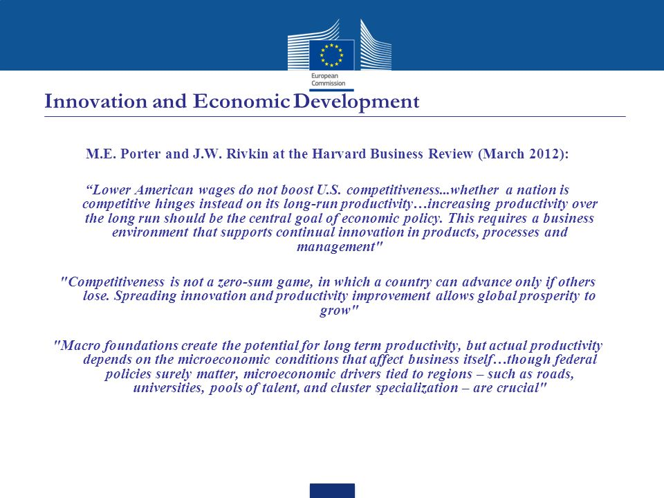 Innovation and Economic Development