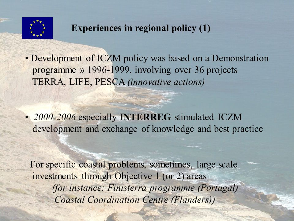 Experiences in regional policy (1)