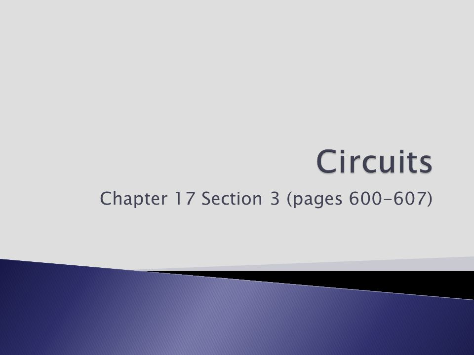 Chapter 17 Section 3 (pages )