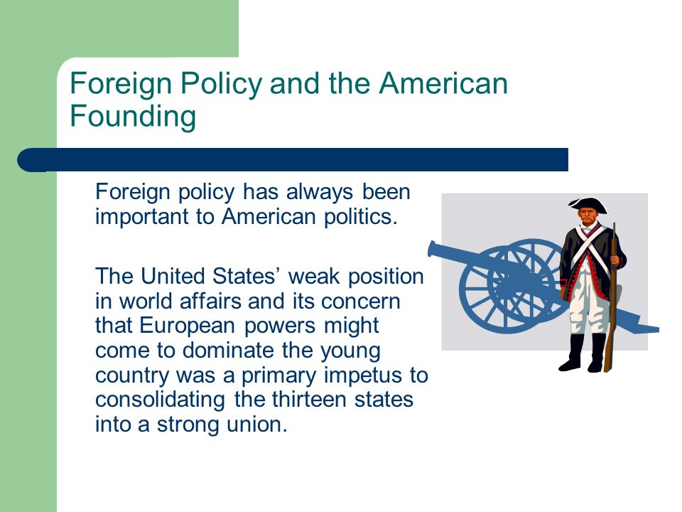 Foreign Policy and the American Founding