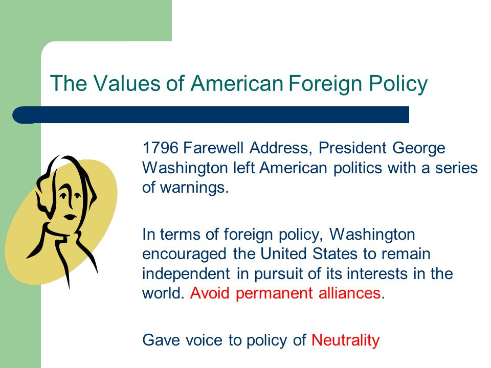 The Values of American Foreign Policy