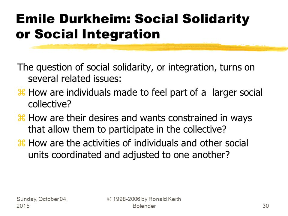 durkheim theory of social solidarity