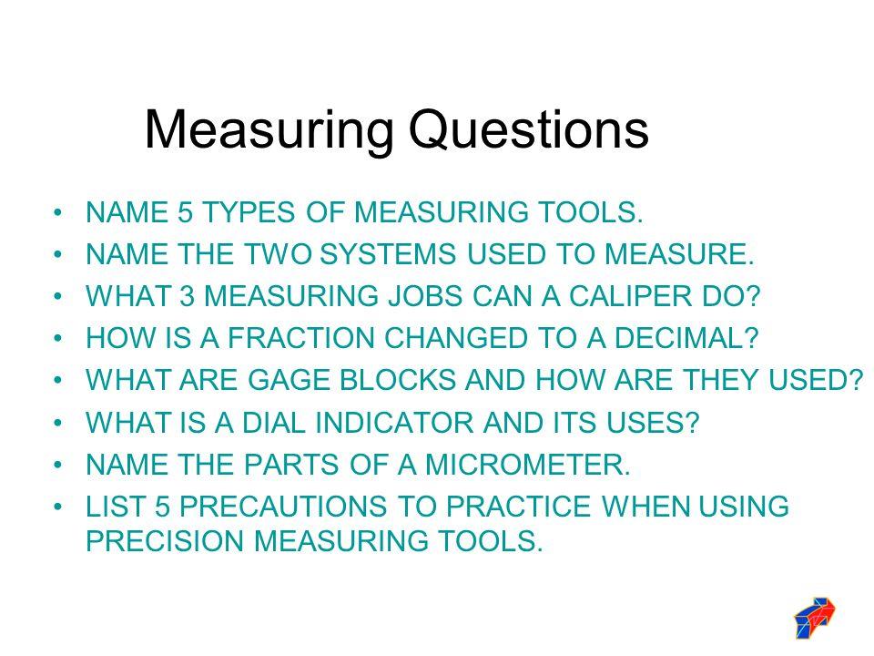 Precision Measurement Ppt Download