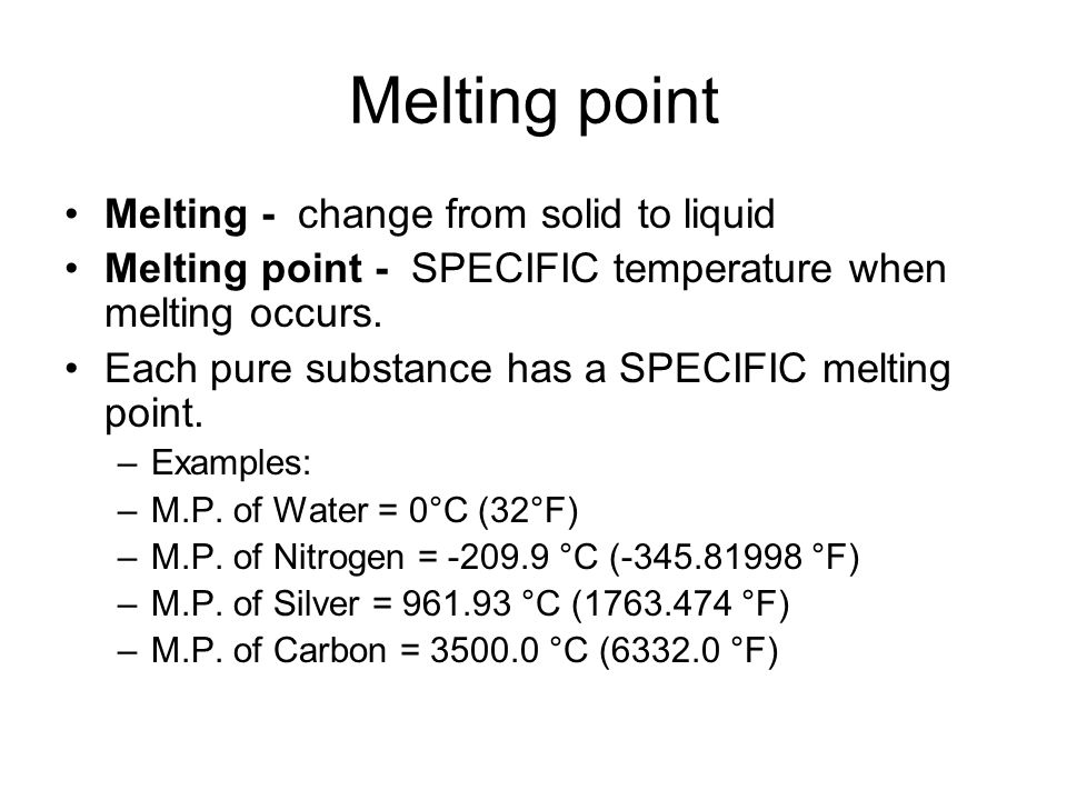the testing of the melting points of p-dichlorobenzene essay We will write a custom essay sample on  testing of the melting points of p-dichlorobenzene melting point temperature is a physical property of pure substances.