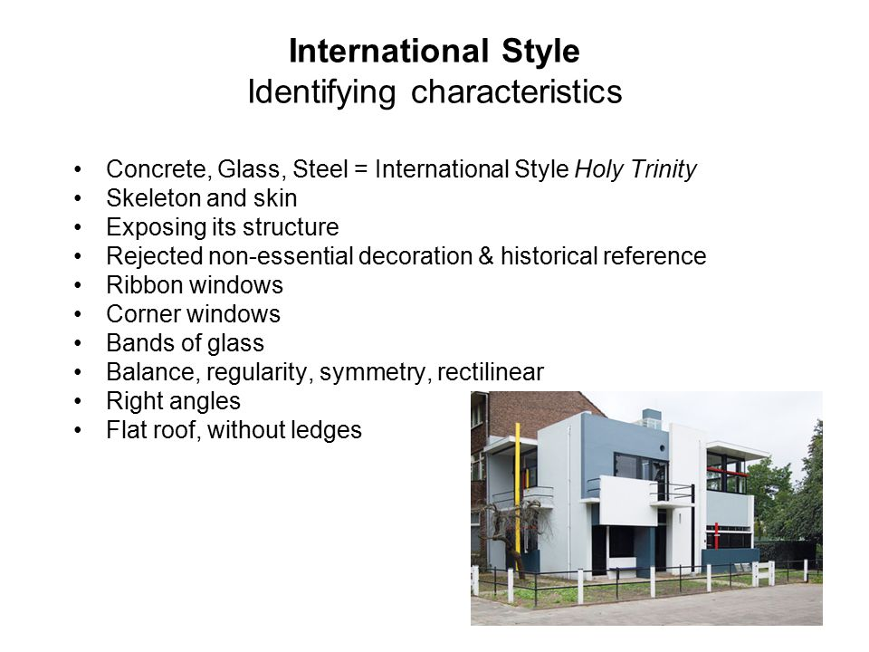 Bauhaus Architecture Characteristics. bauhaus strikes a domestic ...