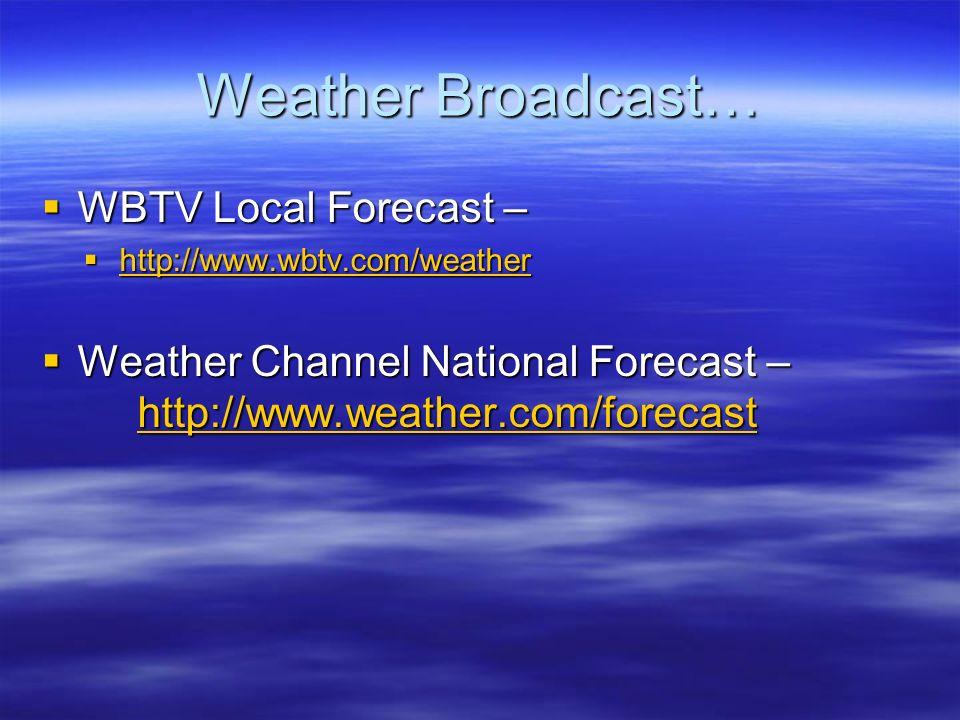 Chapter 12 Meteorology