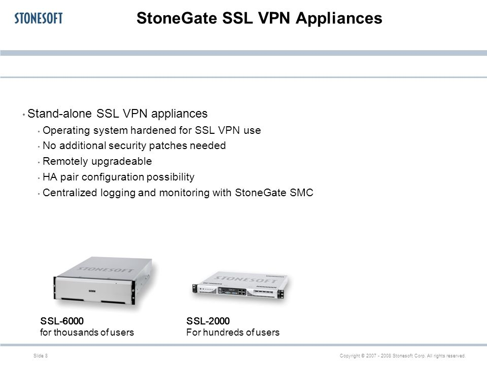 Stonegate Ssl Vpn 1 2 Technical Overview Ppt Download
