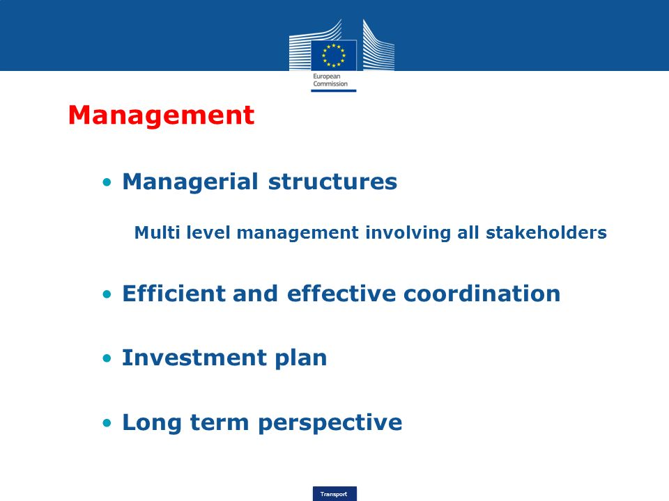 Management Managerial structures Efficient and effective coordination