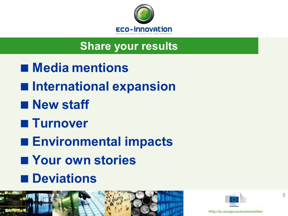 International expansion New staff Turnover Environmental impacts