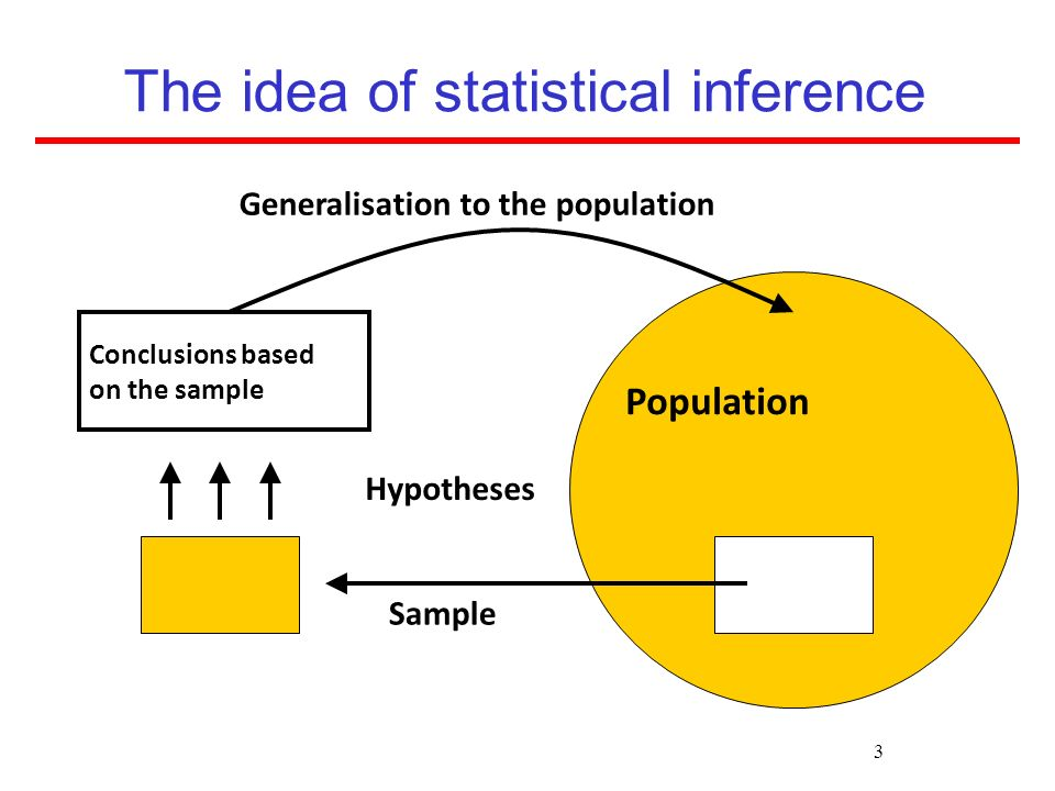 The idea of statistical inference