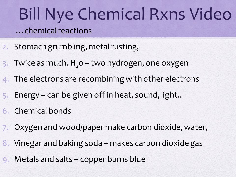 Review periodic table bill nye the science guy elements electrons bill nye chemical rxns video urtaz Gallery