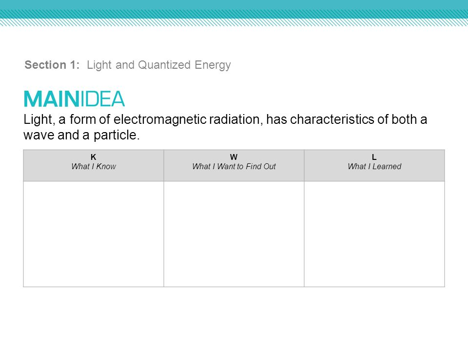 Chapter 5 Electrons in Atoms. - ppt download
