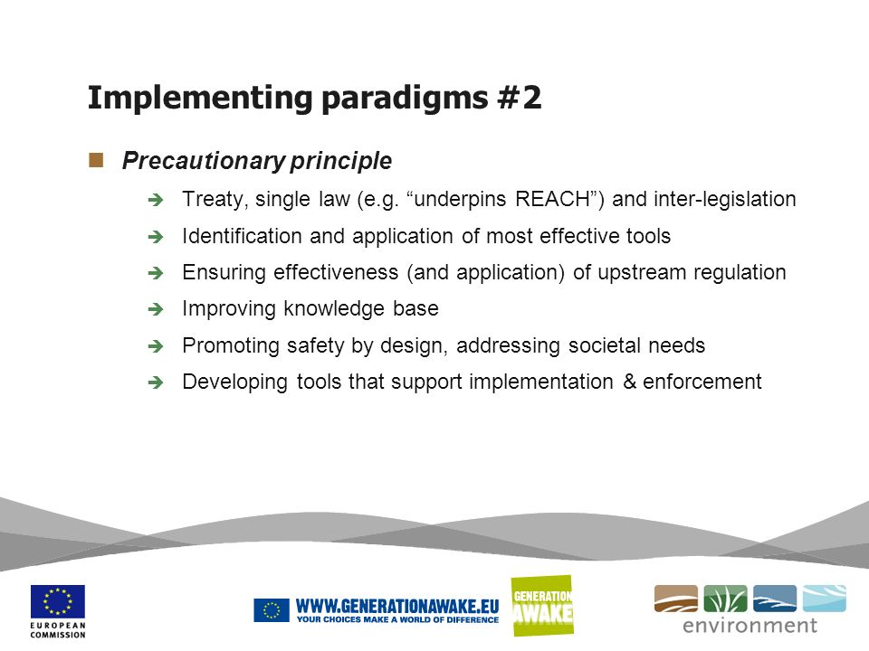 Implementing paradigms #2
