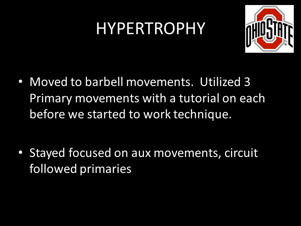 Considerations when developing a lifting program - ppt video