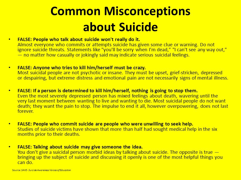 the common misconceptions about depression Debunking some common misconceptions about mental illnesses explore  as someone who suffers from severe treatment-resistant depression, i see and hear those stigmas all the time, and a lot comes from people being uneducated about mental health and mental illnesses here are five common myths about mental illnesses.