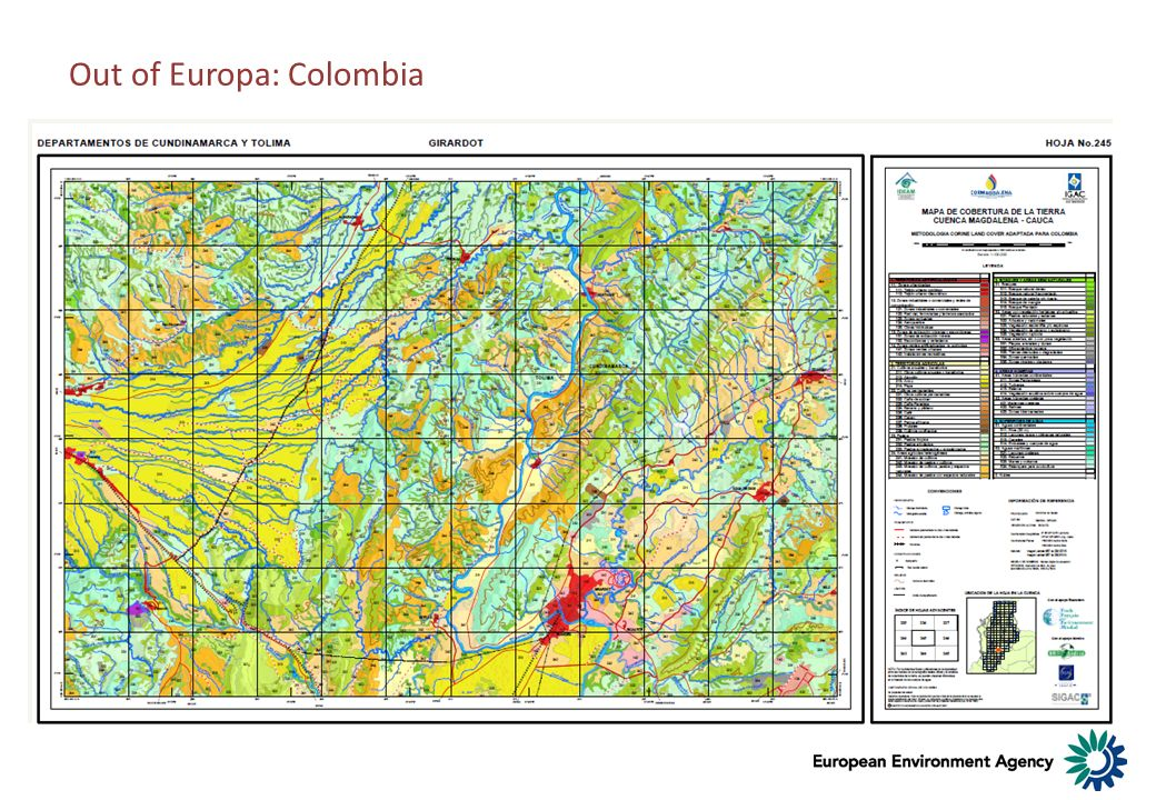 Out of Europa: Colombia