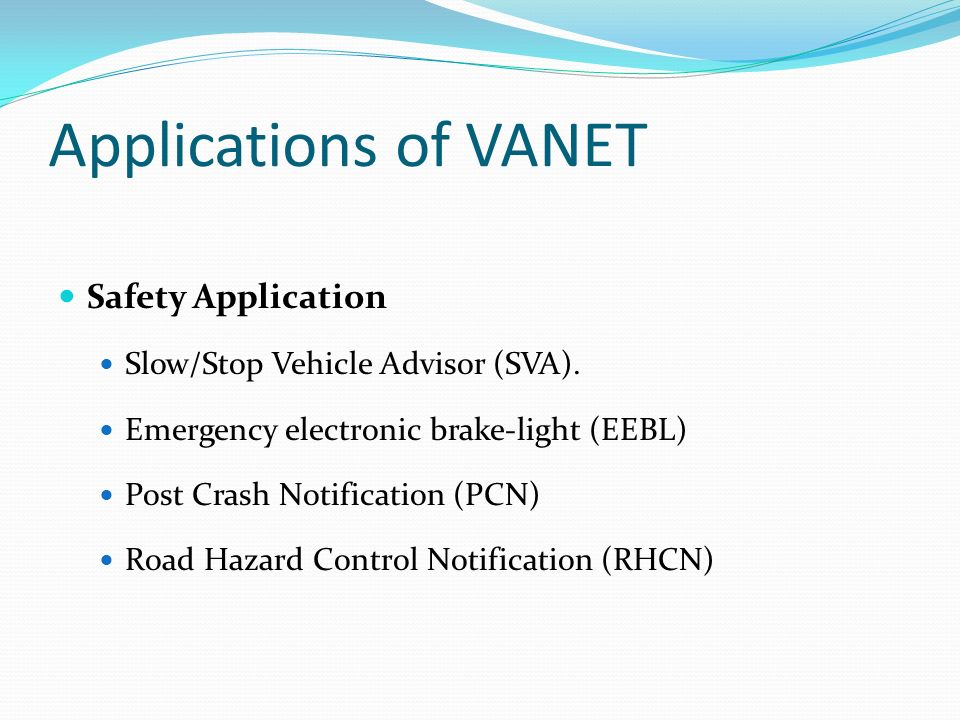 Ppt – security in vehicular ad hoc networks vanets powerpoint.