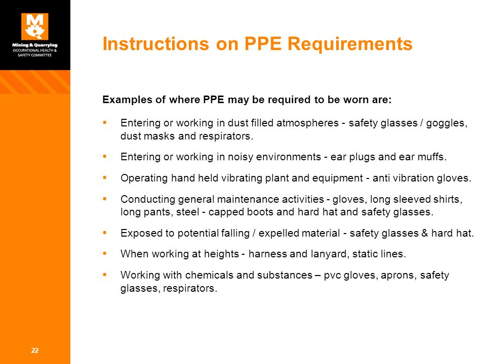 Personal Protective Equipment Ppt Video Online Download