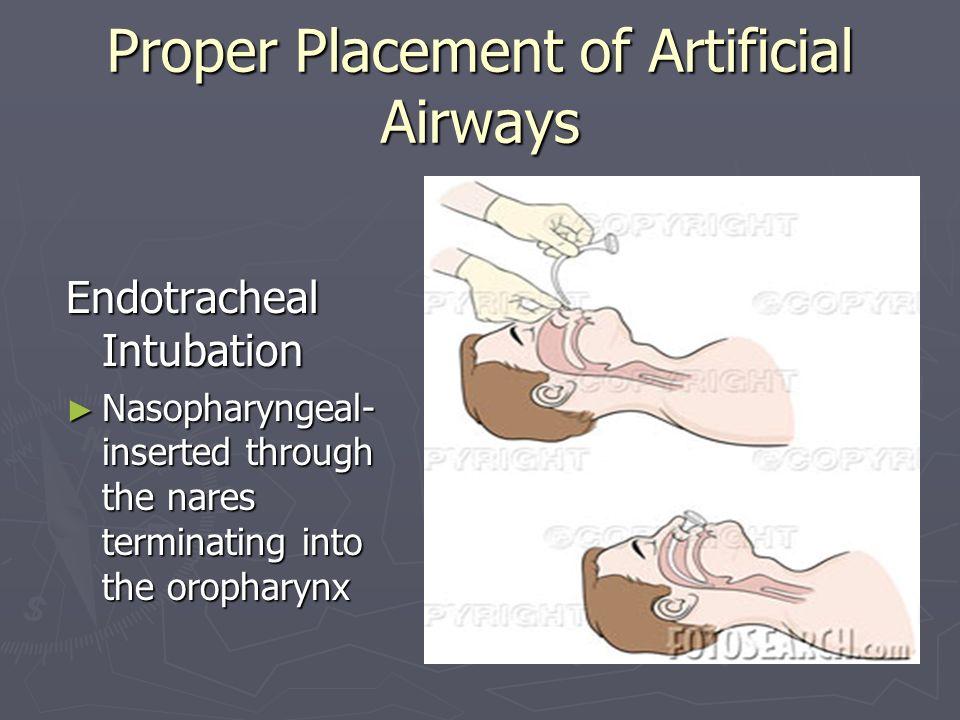 Artificial airways ppt.