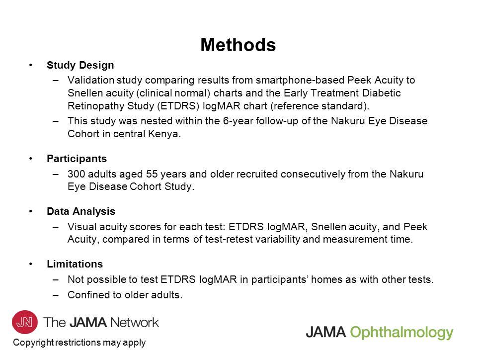JAMA Ophthalmology Journal Club Slides: Development and