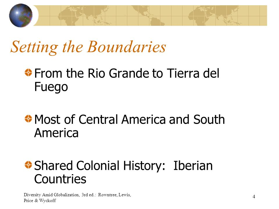 Chapter 4 latin america ppt download 4 setting the boundaries fandeluxe Gallery