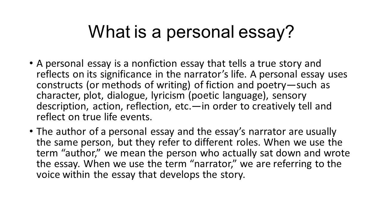 What Is A Personal Essay  What Is A Personal Essay What Is A Personal Essay