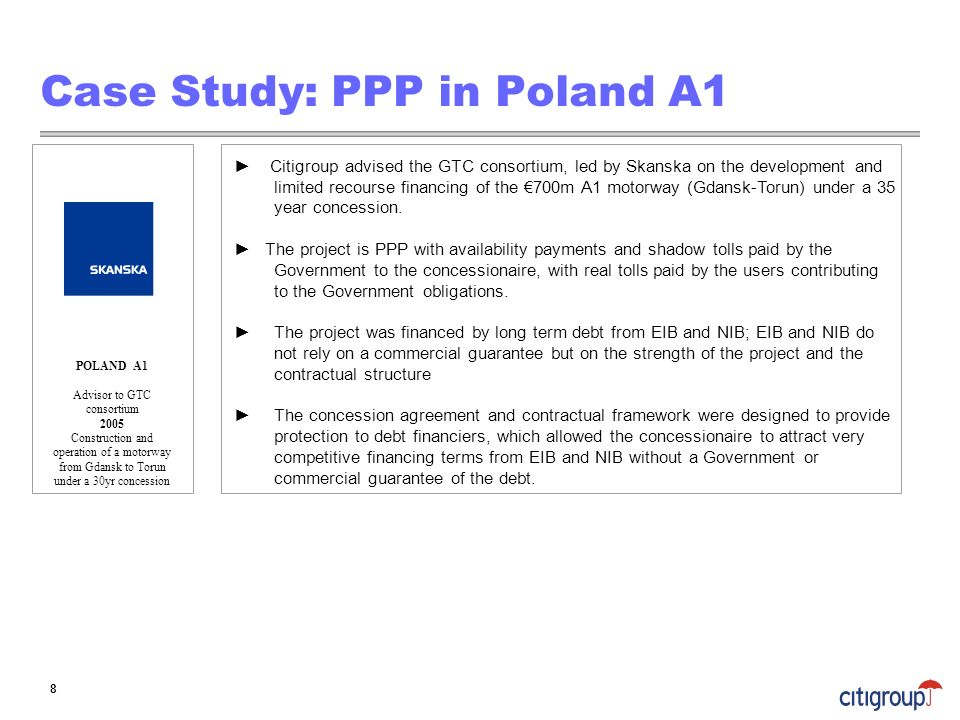 Case Study: PPP in Poland A1