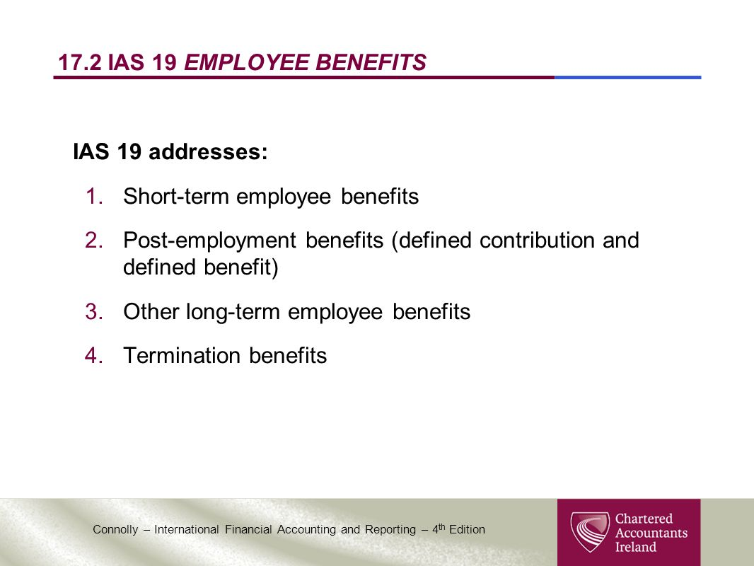chapter 17 employee benefits. - ppt download
