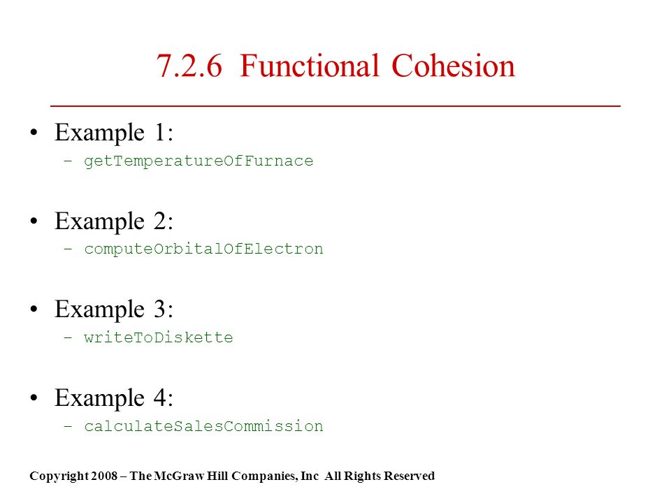Coupling and cohesion pfleeger, s. , software engineering theory.