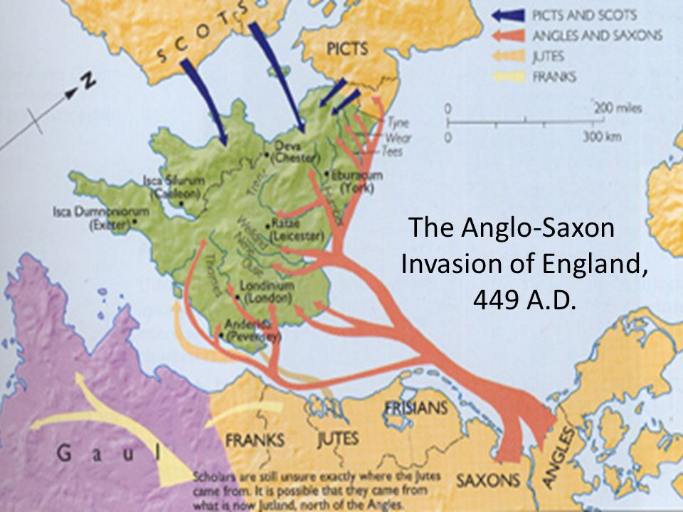 Map Of England 793 Ad.The Beginnings Of English Literature Ppt Download
