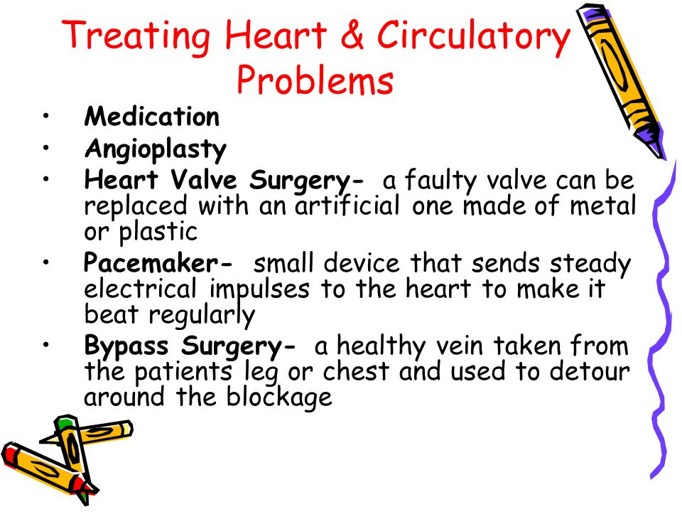 Treating Heart & Circulatory Problems