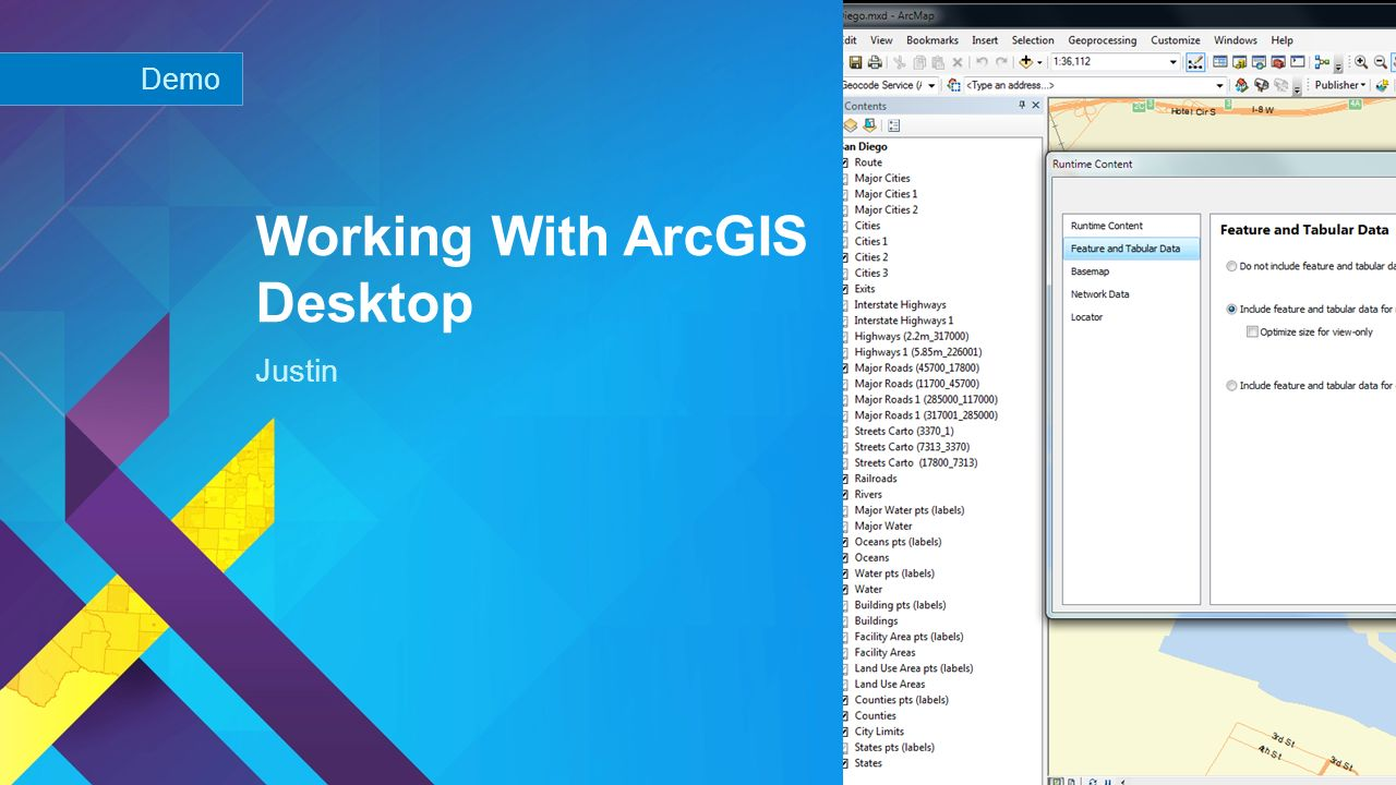 Building Offline Apps With the ArcGIS Runtime SDKs - ppt
