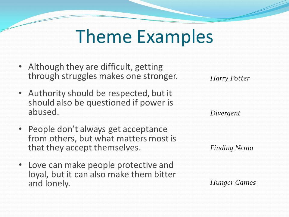 Character Conflict Theme Ppt Download