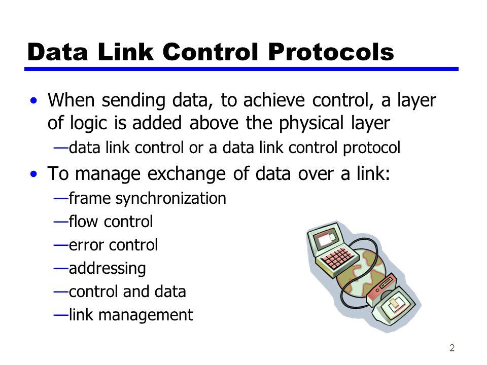 Data Link Control Protocols - ...