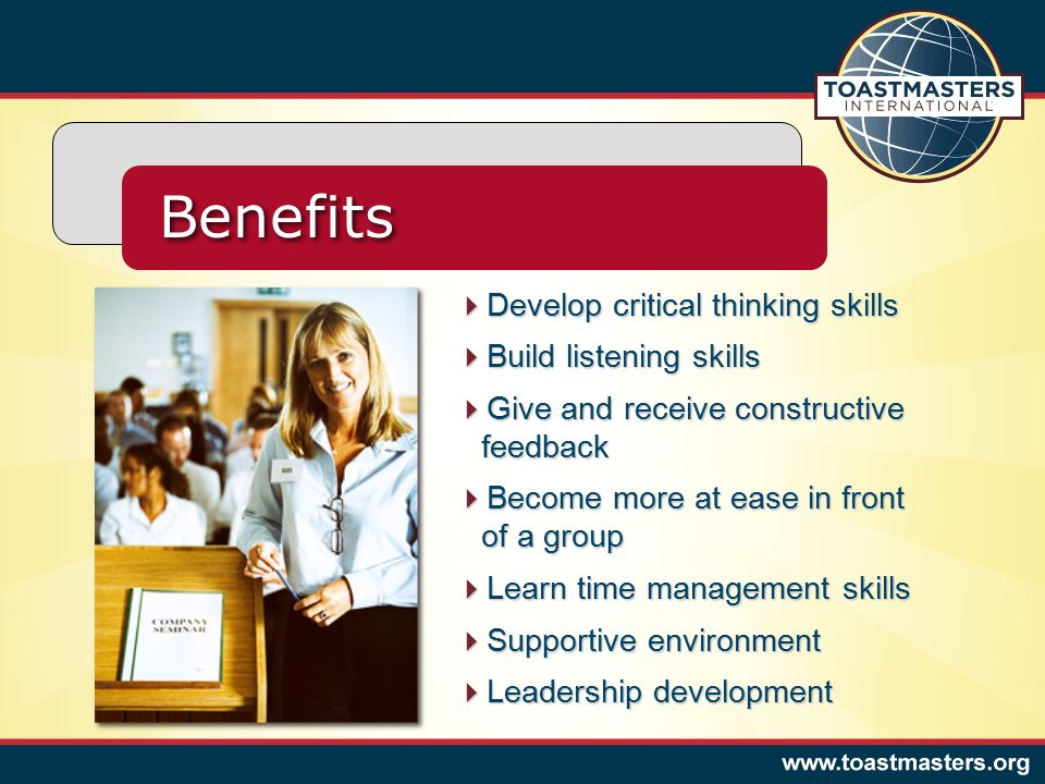benefits develop critical thinking skills build listening skills
