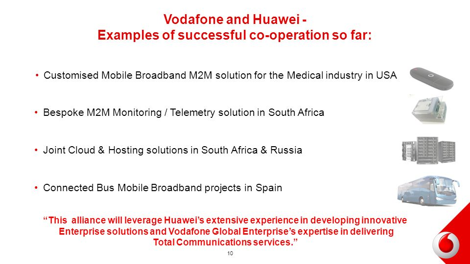 Vodafone Global Enterprise Amp Huawei Ppt Video Online