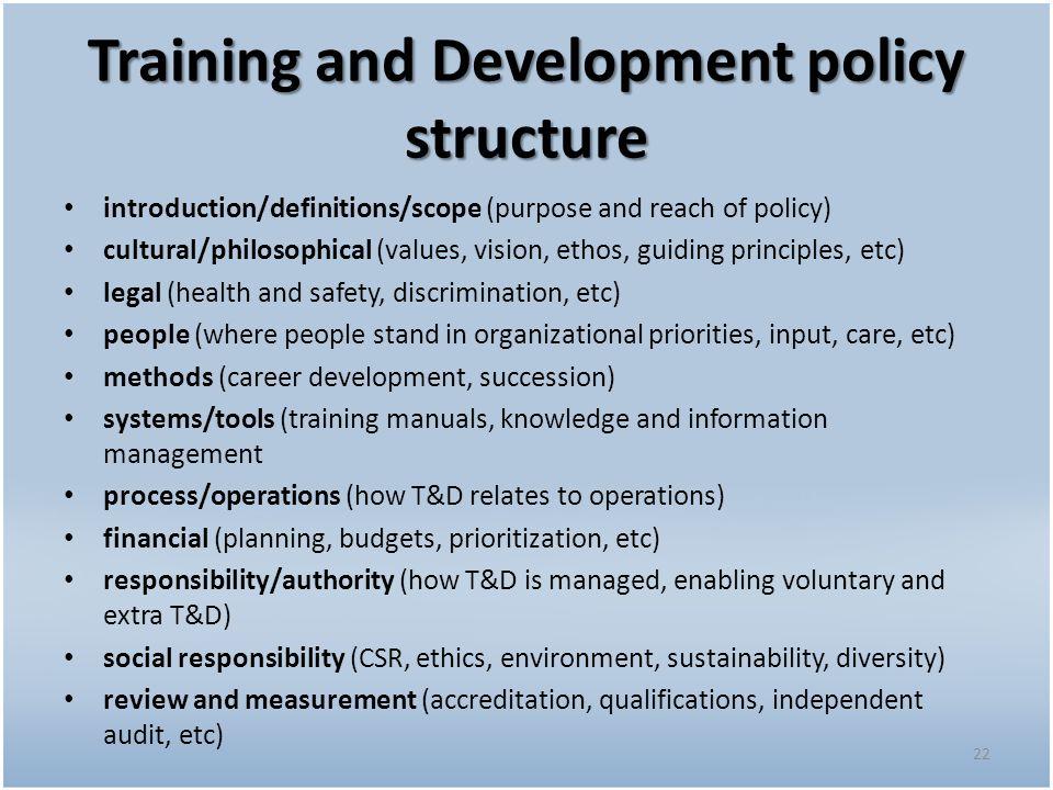 A Presentation On Hr Policies Ppt Download