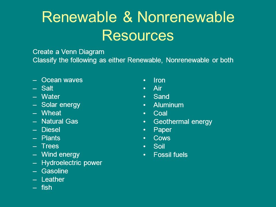 Is Water Renewable Or Nonrenewable Water Ionizer