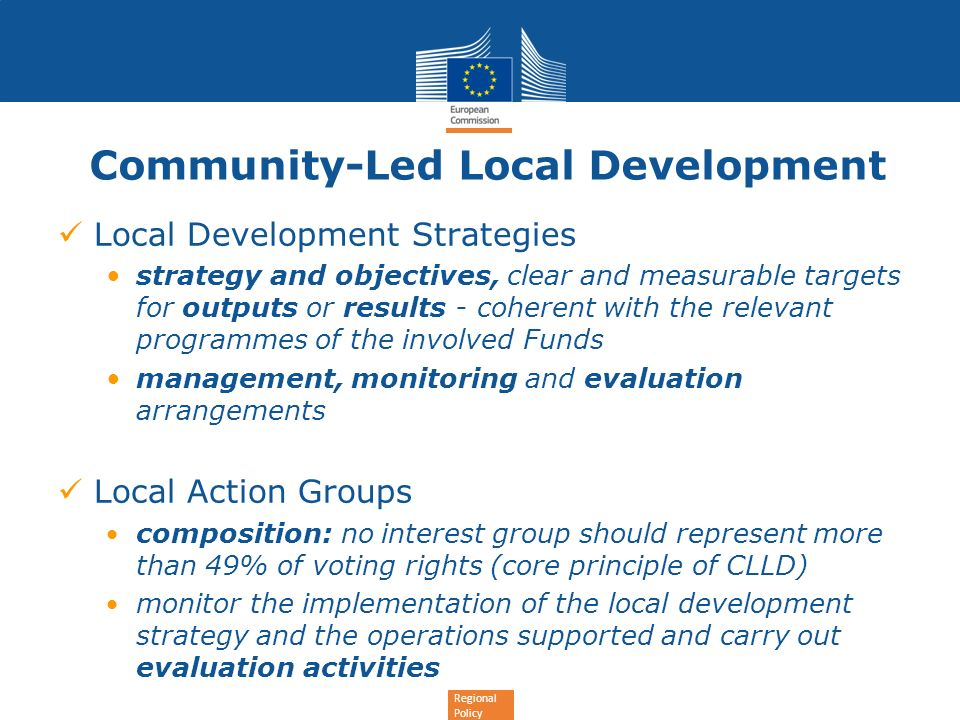 Community-Led Local Development