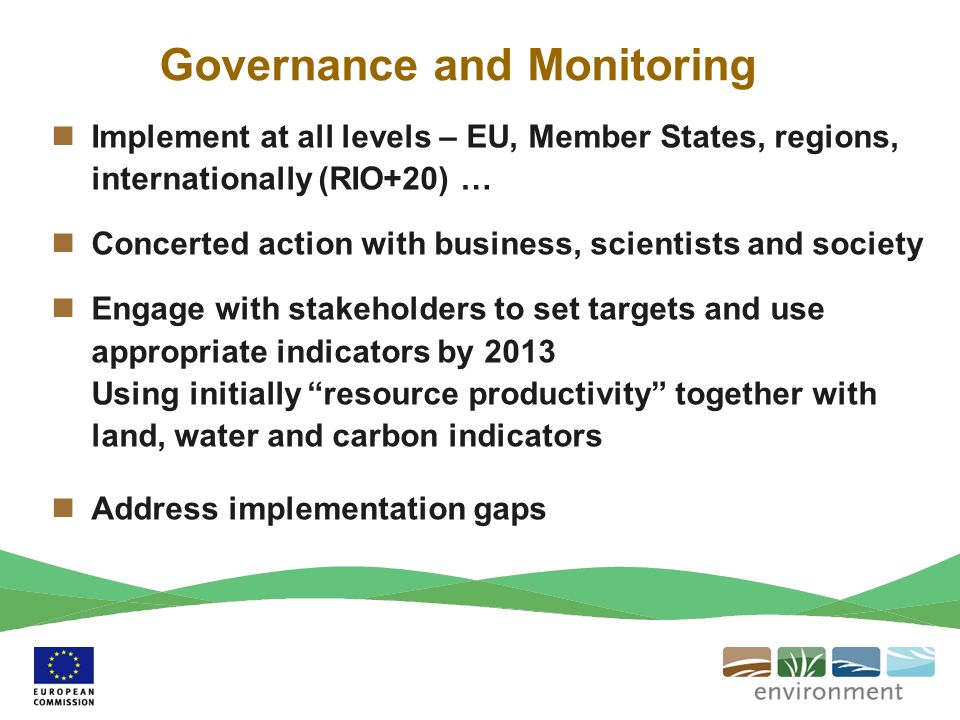 Governance and Monitoring