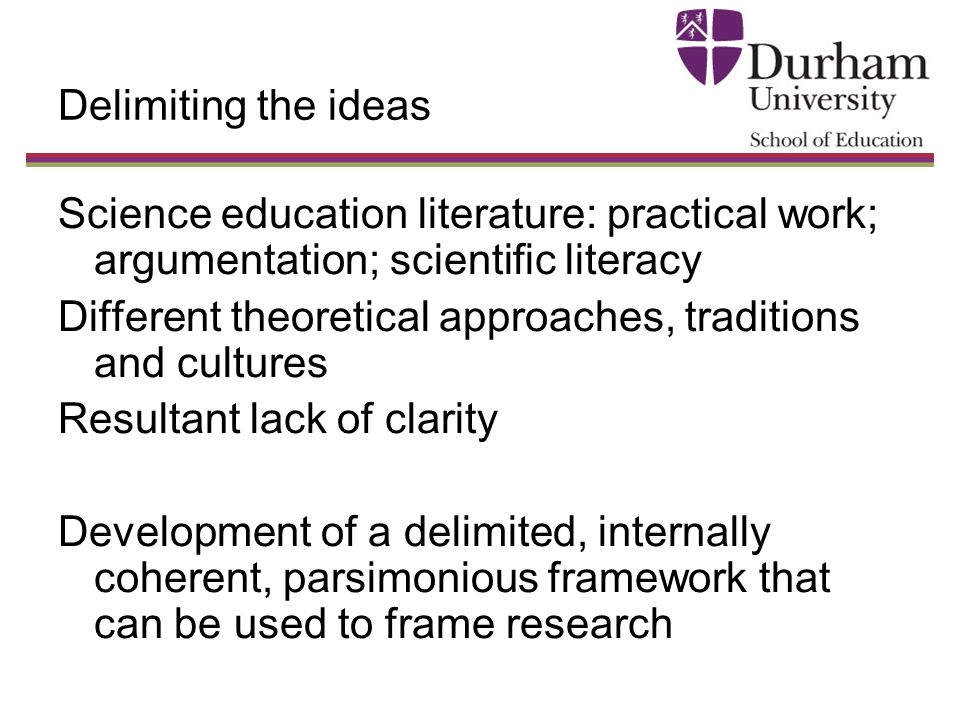 Education Plans Lack Clarity On >> A Framework For Practical Work Argumentation And Scientific