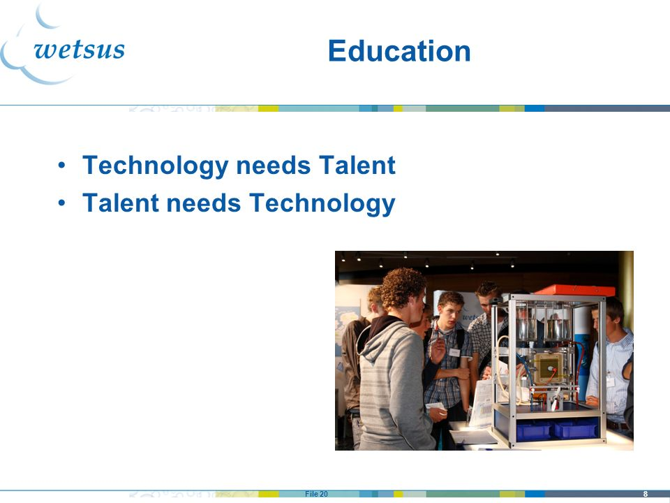 Education Technology needs Talent Talent needs Technology