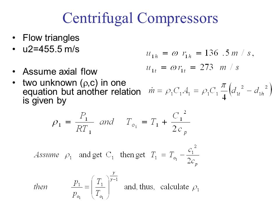 Centrifugal Compressors - ppt video online download