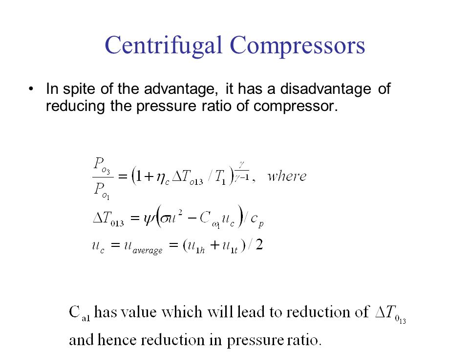 Centrifugal Compressors - ppt video online download