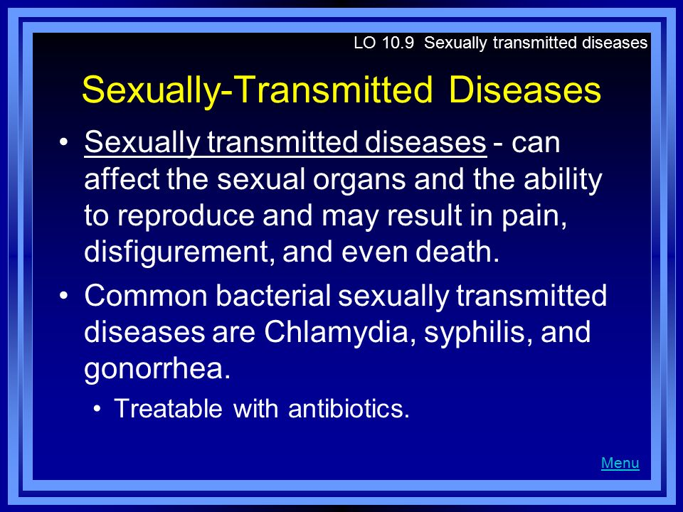 Sexually-Transmitted Diseases