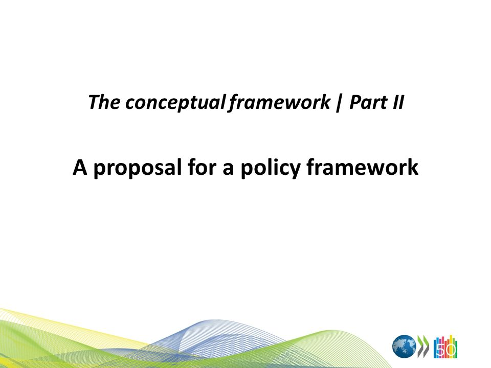 The conceptual framework | Part II A proposal for a policy framework